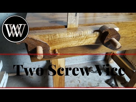How To Make A Moxon Vice For A Hand Tool Workbench Chris Schwarz Style