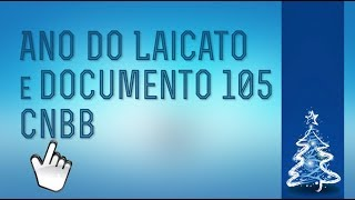 Ano do Laicato e Documento 105 CNBB
