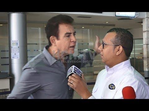 """""""Usted es un insolente"""", el momento que #SalvadorNasralla perdió los estribos con #AlexCáceres"""