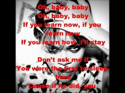 Watch N Learn Lyrics - Rihanna