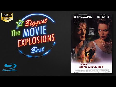 The Best Movie Explosions: The Specialist (1994) Finale Warehouse Explosion(edited)