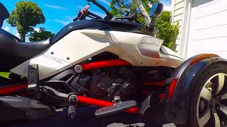 3. Upgrades to my 2015 Can-Am Spyder F3-S