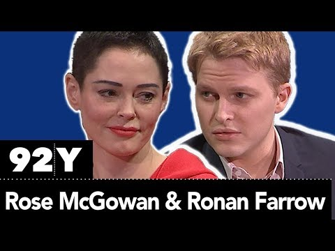 Rose McGowan in Conversation with Ronan Farrow: BRAVE