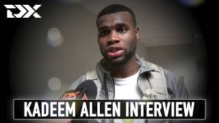 Kadeem Allen Interview at the 2017 Portsmouth Invitational Tournament