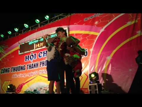 Xoá Hết - Du Thiên quẩy tại hội chợ tp Bắc Giang