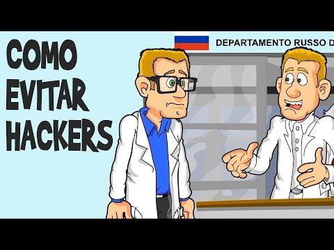 Tecnologia russa anti-hackers! É sério! (Do Baú)