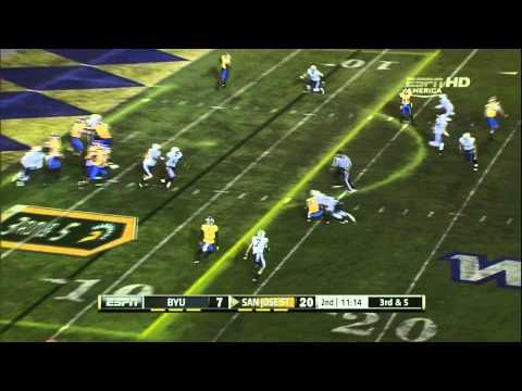 David Fales vs BYU 2012 video.