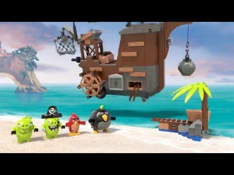 Конструктор Пиратский корабль свинок - LEGO ANGRY BIRDS - фото № 8