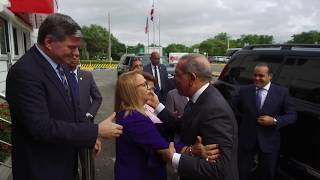 Danilo Medina participa de la inauguración de nueva planta de manufactura en Edwards Lifesciences.