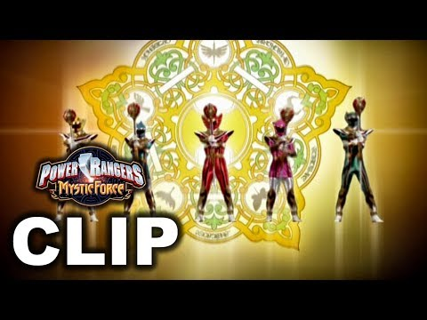 Power Rangers Mystic Force - Legend Mode First Morph/Transformation ('Dark Wish' Episode)