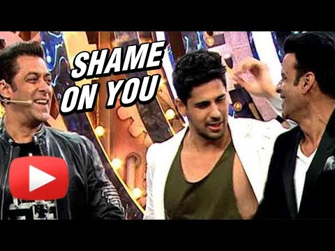 Sidharth Malhotra INSULTS BHOJPURI Language on Big