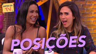 Gracyanne Barbosa revela sua POSIÇÕES favoritas pra Tatá Werneck! | Lady Night | Humor Multishow
