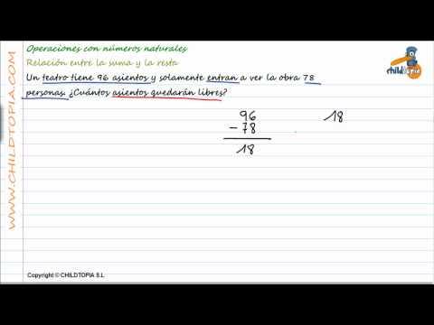 Vídeos Educativos.,Vídeos:Problemas números naturales 4