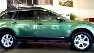 2013 Subaru Outback Overview
