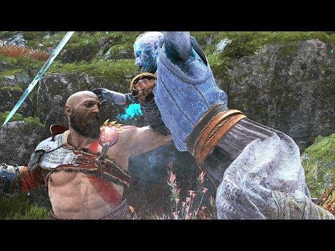 God of War 4 2018 Hail To the King No Damage Walkthrough Part 54 PS4 PRO
