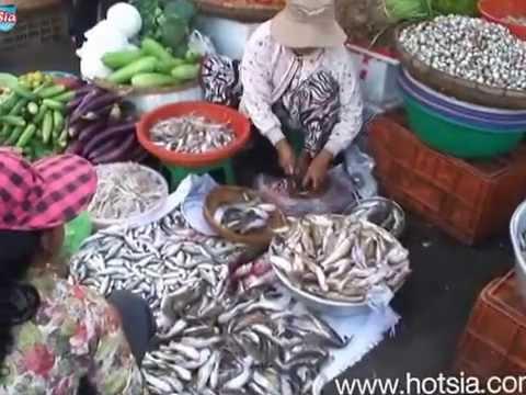 phnom penh fresh market ตลาดเช้าพนมเปญ