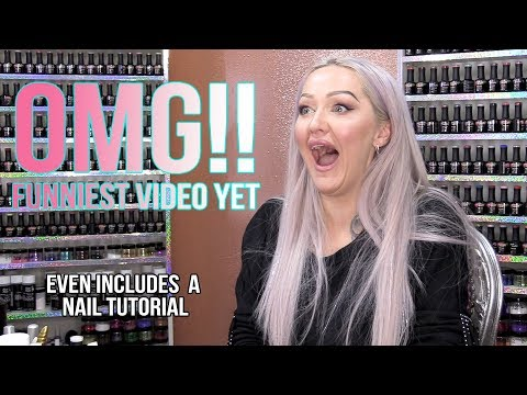 Acrylic nails - OMG!! CLICKBAIT/NOT CLICKBAIT - Still Includes an Actual Nail Tutorial