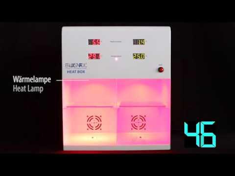 Heat-Box Test: Sonnenschutzfolie AX PLUS 20