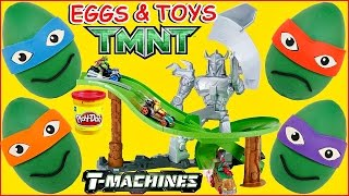 Video Teenage Mutant Ninja Turtles T-Machines Turtles Revenge Track + TMNT Play Doh Surprise Eggs MP3, 3GP, MP4, WEBM, AVI, FLV Maret 2019