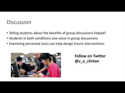 Student Attitudes towards Group Discussions