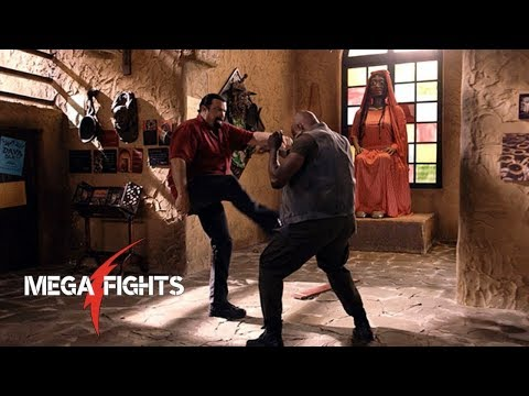 China Salesman | Mike Tyson vs Steven Seagal | Great Fight Scene HD