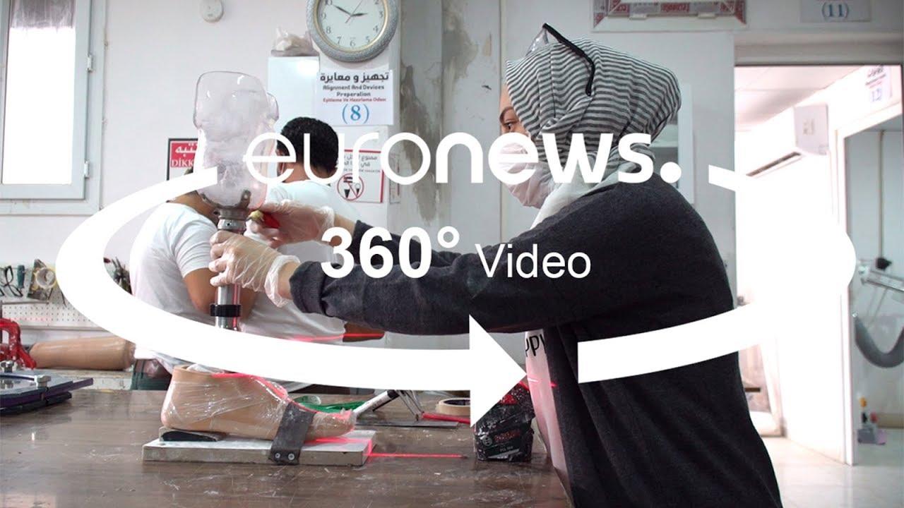 Ρεγιανλί: Τεχνητά μέλη για χιλιάδες Σύρους πρόσφυγες