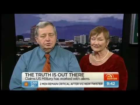 aliens - Australian TV airs interview with Charles Hall who claims to have worked with ET's at U.S. Bases. ADG Facebook: http://www.facebook.com/pages/Alien-Disclosur...