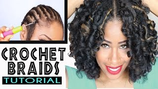How To: CROCHET BRAIDS w/ MARLEY HAIR ! - YouTube