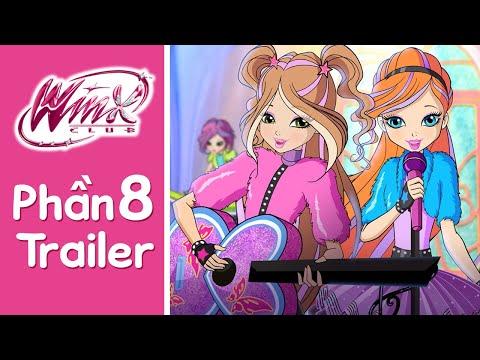 Winx Club - Phần 8 - [TRAILER] - Thời lượng: 4 phút và 43 giây.