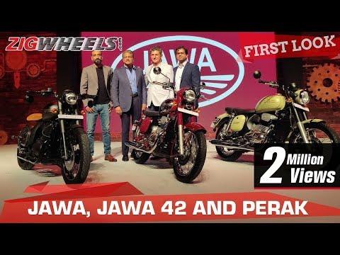 Download Jawa, Jawa 42 and Jawa Perak (Bobber) | First Look | ZigWheels.com HD Mp4 3GP Video and MP3