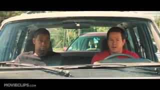 """Academy Award® winner Denzel Washington and Mark Wahlberg lead an all-star cast in """"2 Guns,"""" an explosive action film that tracks two operatives from competing bureaus who are forced on the run together. But there is a big problem with their unique alliance: Neither knows that the other is an undercover federal agent."""