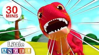 Video Baby T-Rex - Dinosaurs Song   Jungle Animals   Kids Songs & Nursery Rhymes Little Angel MP3, 3GP, MP4, WEBM, AVI, FLV September 2018