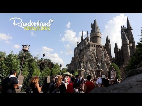 Harry Potter at Universal Orlando! Taking the boy to see E.T., Diagon Alley, & Hogwart's Express!