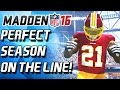 PERFECT SEASON ON THE LINE! UNLEASHING NEW LINEUP! - Madden 16 Ultimate Team