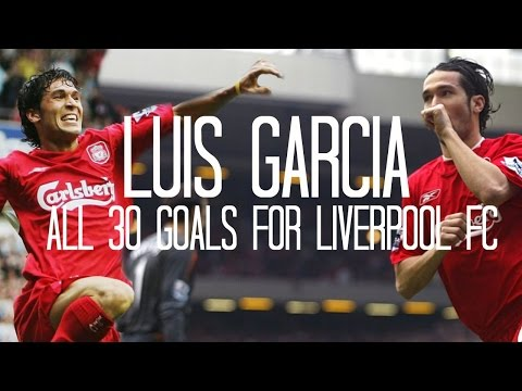 Luis Garcia – All 30 Goals for Liverpool FC – 2004/2007