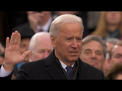 Inauguration Day 2013: Vice President Joe Biden Sworn In to Second Term