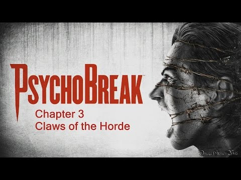 claws - PS4版のサイコブレイク(Pshcho Break/The Evil Within)のプレイ動画です、Chapter 3 Claws of the Horde。 Chapter 3 - Claws of the Horde 難易度: Survival(New Game)...