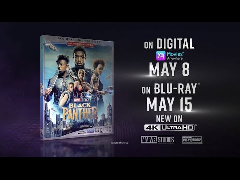 Black Panther Blu-Ray - Official® Trailer [HD]