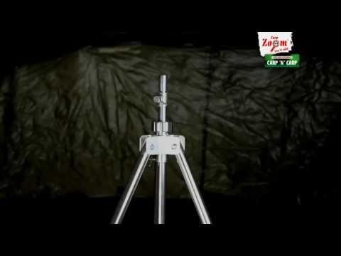 Відеоодемонстрація триподу Carp Zoom Elite Rod Pod