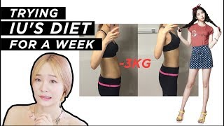 Video 💪 I Tried IU's Diet for a Week and lost 3kg |  soobeauty MP3, 3GP, MP4, WEBM, AVI, FLV Agustus 2017