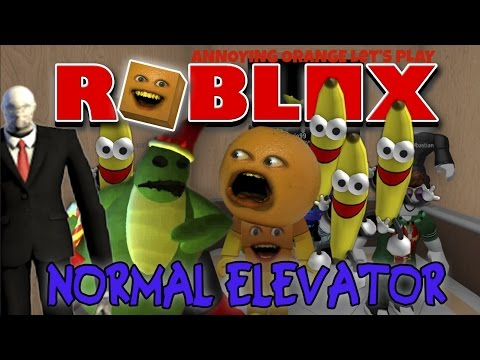 Annoying Orange Plays - Roblox: THE NORMAL ELEVATOR! (видео)