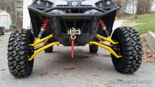 8. CRAZY!!!!! Can am Commander Max lifted on 30s