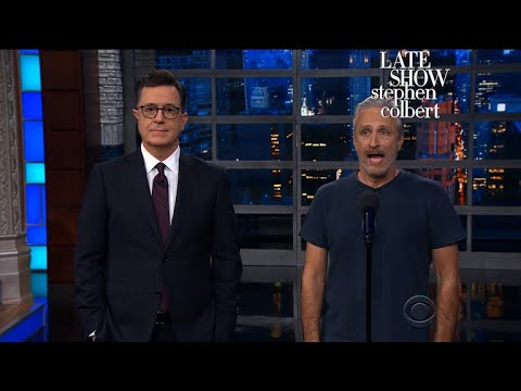 Jon Stewart Grants Trump
