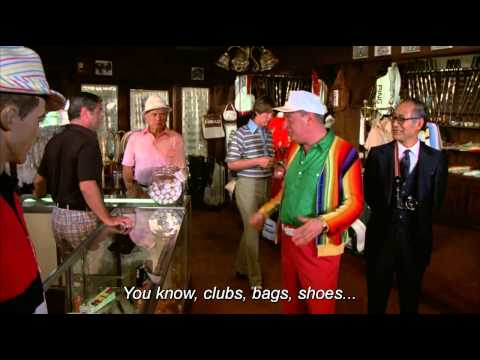 Caddyshack Hat Scene- Rodney Dangerfield