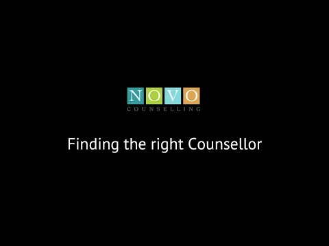 Finding the right Counsellor
