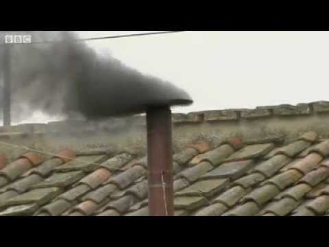 WORLD News - Pope election- Black smoke signals no decision on Pope