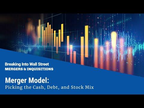 Merger Model: Cash, Debt, and Stock Mix