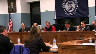 Town Board Meeting - December 9, 2014