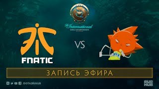 Fnatic vs Skatemasters, The International 2017 Qualifiers [Maelstorm, LightOfHeaven]