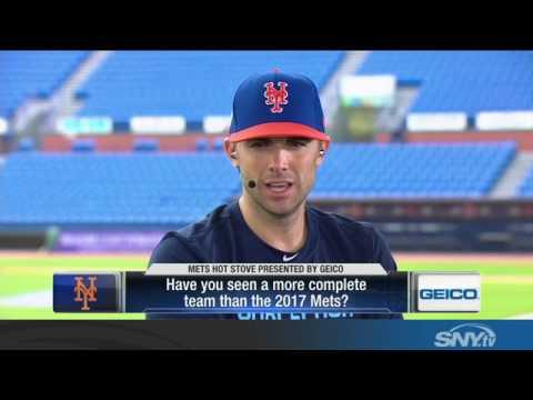 Video: David Wright talks health, 2017 season, and reuniting with Jose Reyes